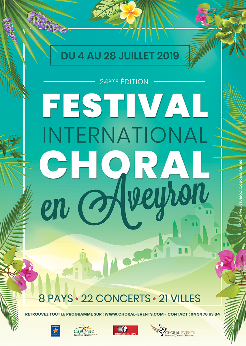 Festival International Choral en Aveyron 2019