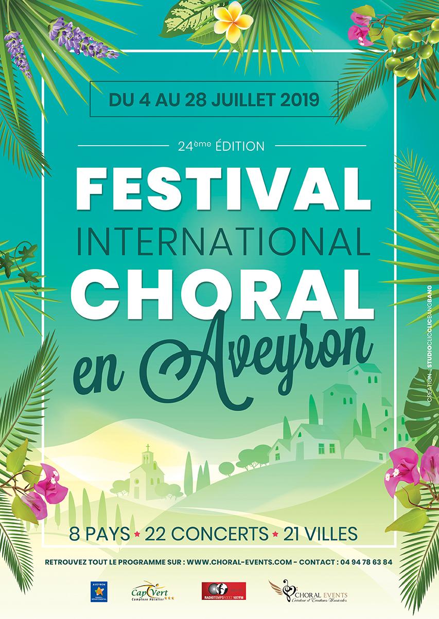 Festival International Choral en Aveyron 2019