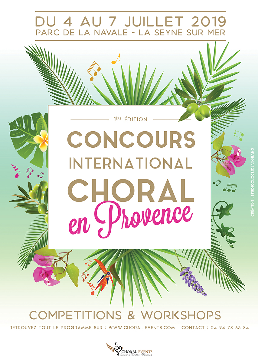 2019 International Choir Competition in Provence