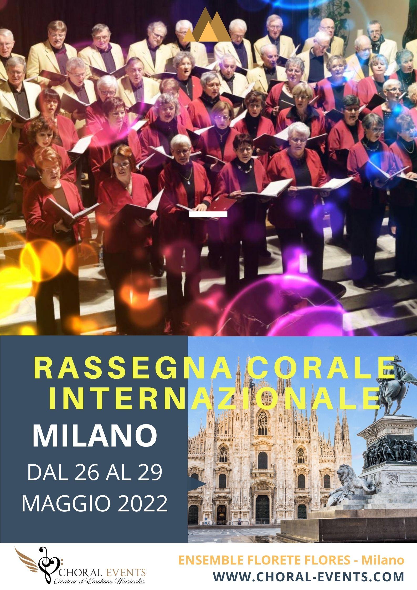 Affiche Festival de Milan 2022